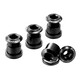 Reverse Chainring Bolt Set black